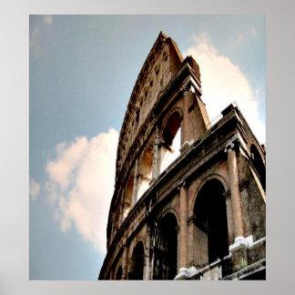 Colisé romain affiche