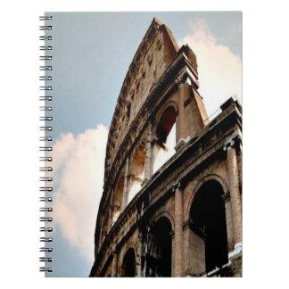 Colisé romain carnet à spirale