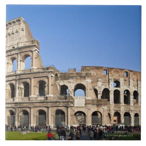 Colisé romain carreaux