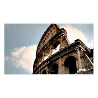 Colisé romain modèle de carte de visite