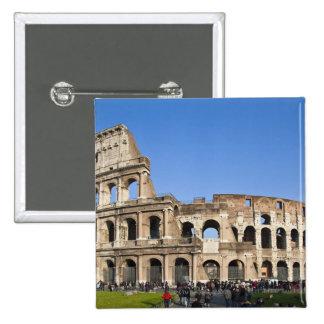 Colisé romain macaron carré 5 cm