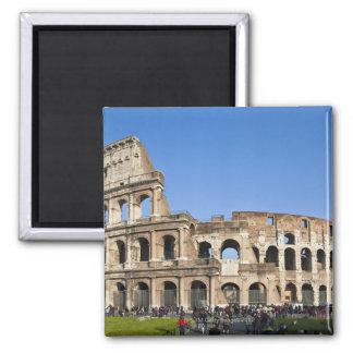 Colisé romain magnet carré