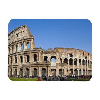 Colisé romain magnet rectangulaire avec photo