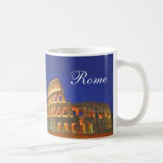 Colisé romain mug blanc