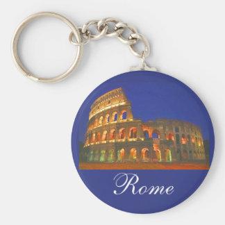 Colisé romain porte-clé rond