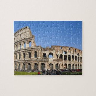 Colisé romain puzzle avec photo