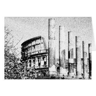 Colisé romain, Rome Italie Cartes De Vœux