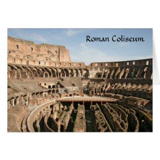 Colisé romain, Rome Italie Carte De Vœux