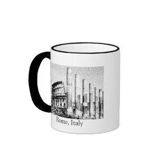 Colisé romain, Rome Italie Mug Ringer