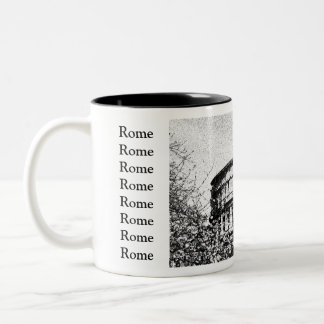 Colisé romain, Rome Italie Mug Bicolore