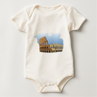Coliseo Roma Rome Ancient Coliseum History Italy Baby Bodysuit