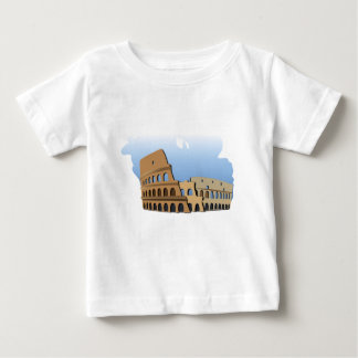 Coliseo Roma Rome Ancient Coliseum History Italy Baby T-Shirt