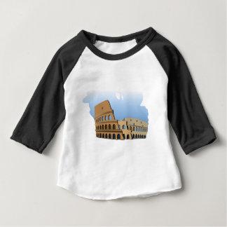 Coliseo Roma Rome Ancient Coliseum History Italy Baby T-Shirt