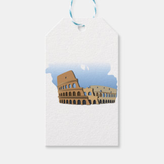 Coliseo Roma Rome Ancient Coliseum History Italy Gift Tags