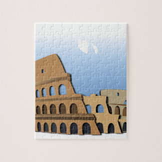 Coliseo Roma Rome Ancient Coliseum History Italy Jigsaw Puzzle