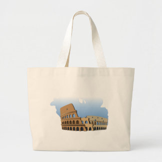 Coliseo Roma Rome Ancient Coliseum History Italy Large Tote Bag