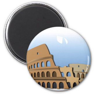 Coliseo Roma Rome Ancient Coliseum History Italy Magnet