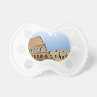 Coliseo Roma Rome Ancient Coliseum History Italy Pacifier