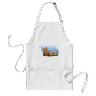 Coliseo Roma Rome Ancient Coliseum History Italy Standard Apron