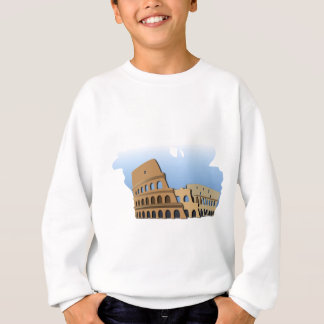 Coliseo Roma Rome Ancient Coliseum History Italy Sweatshirt