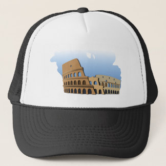 Coliseo Roma Rome Ancient Coliseum History Italy Trucker Hat