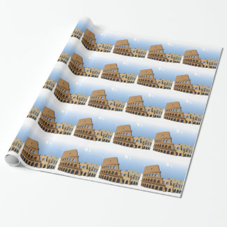Coliseo Roma Rome Ancient Coliseum History Italy Wrapping Paper