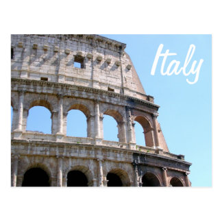 Coliseum Corner - Rome, Italy Postcard