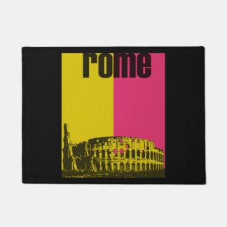 Coliseum in Rome Doormat