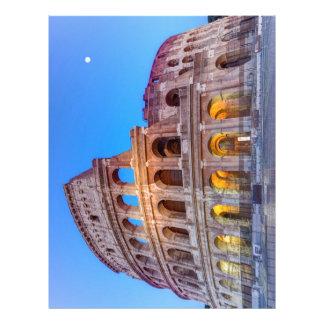 Coliseum in Rome, Italy Letterhead