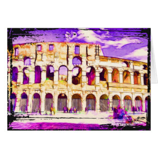 Coliseum Note Card