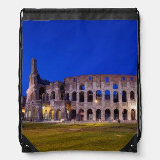Coliseum, Roma, Italy Drawstring Bag