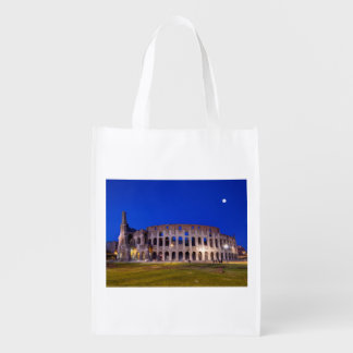 Coliseum, Roma, Italy Reusable Grocery Bag