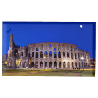 Coliseum, Roma, Italy Table Card Holder