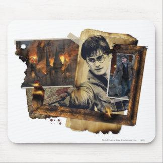 Collage 7 de Harry Potter Tapis De Souris
