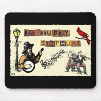 Collage Art Mouse Pad