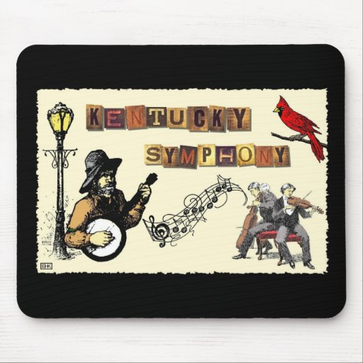 Collage Art Mouse Pads