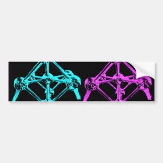 Collage d Atomium-I Autocollants Pour Voiture
