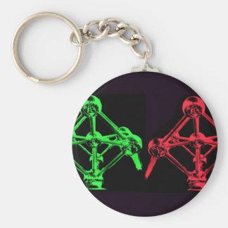 Collage d Atomium Porte-clés