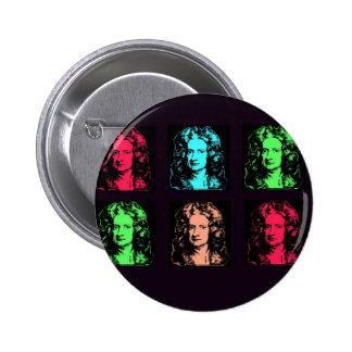 Collage d Isaac Newton Badge Avec Épingle
