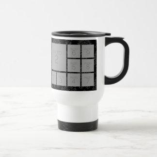 Collage de 9 photos avec la couleur facultative mug de voyage