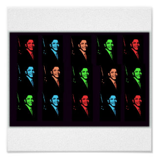 Collage de Barack Obama Posters