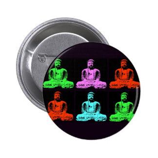 Collage de Bouddha Badges Avec Agrafe