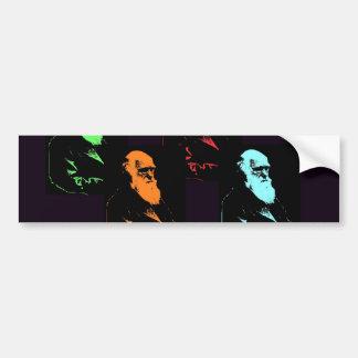 Collage de Charles Darwin Autocollant De Voiture