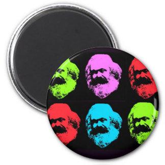 Collage de Karl Marx Magnets Pour Réfrigérateur