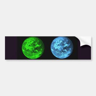 Collage de la terre de planète adhésifs pour voiture