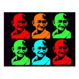 Collage de Mahatma Gandhi Carte Postale
