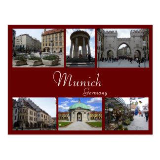 Collage de Munich Cartes Postales