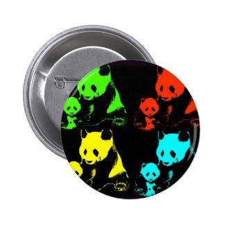 Collage de panda badge