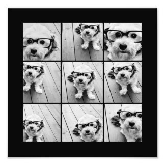 Collage de photo d'Instagram avec 9 photos