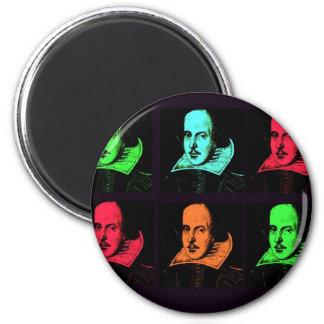 Collage de William Shakespeare Aimant